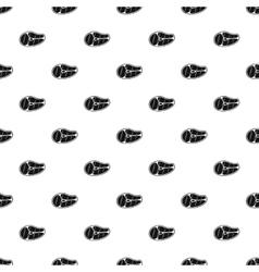 Steak pattern simple style vector image
