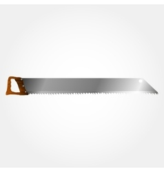 wood saws vector image