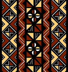 African seamless pattern vector image vector image