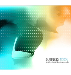 Corporate business brochure or card cover vector image