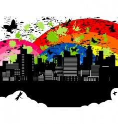 city5 vector image vector image