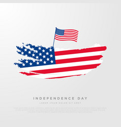 4th of july united stated independence day vector image
