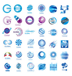 global large set vector image