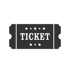 Icon of cinema Ticket Ticket sign symbol vector