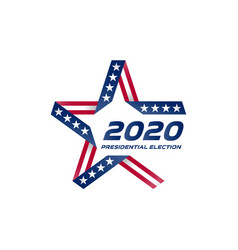 Presidential election 2020 in usa election voting vector