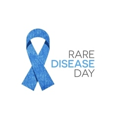 Rare Disease Day vector