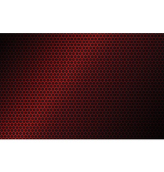 Red geometric polygons background vector image