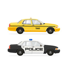 taxi yellow cab nyc car vector image