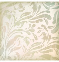 Vintage floral beautiful background vector image vector image