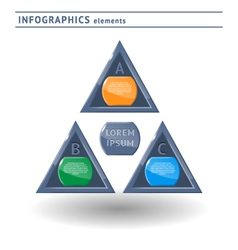 Infographics elemets vector image