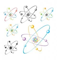 molecule set vector image