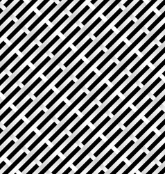 abstract black and white grid for design vector image vector image