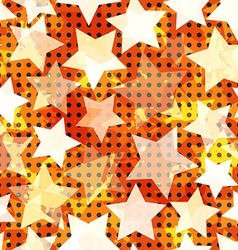 Abstract light star seamless vector