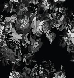 black pattern seamless vector image