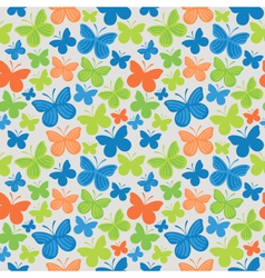 Butterfly pattern vector