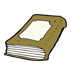 Comic cartoon book vector