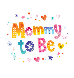 Mommy to be vector