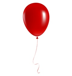 Red balloon vector