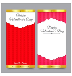 Valentines Card Design 001 vector image