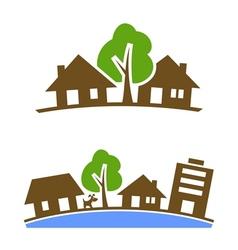 Neighbourhood Icon vector image