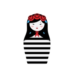 Russian dolls - matryoshka vector