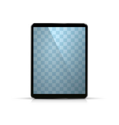 laptop object on the white background vector image