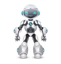 Artificial intelligence robot technology vector