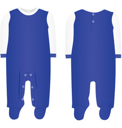 Baby boy bodysuit vector