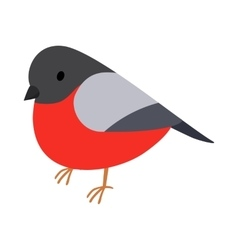 Bullfinch icon isometric 3d style vector image
