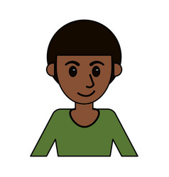Cartoon guy male image design vector