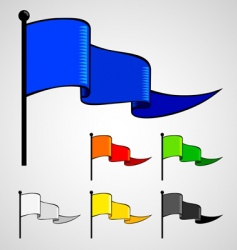 color flag vector image