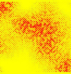 irregular halftone pop art polka dot pattern vector image