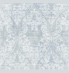 vintage damask ornament background stylish vector image