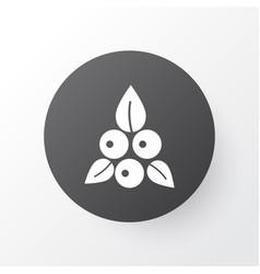 berries icon symbol premium quality isolated vector image