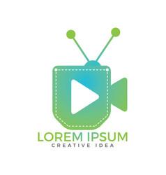 pocket tv design vector image