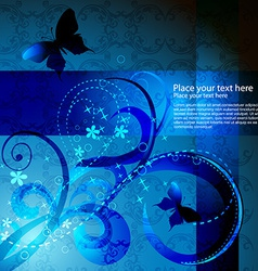 butterfly artwork vector image vector image
