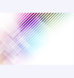 abstract geometric shape colors background vector image