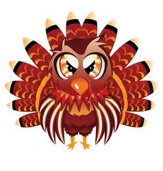 Cute Turkey Bird vector
