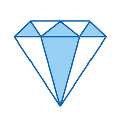 diamond rich isolated icon vector image