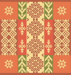 ethnic geometric ornament vector image