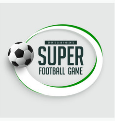 football game background with text space vector image