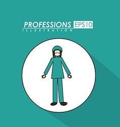 Profession desing vector image