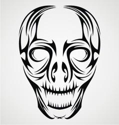 Tribal Skulls vector image vector image