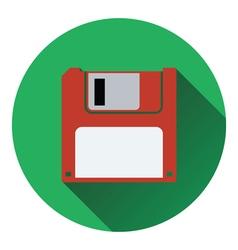 Floppy icon vector image