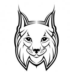 Lynx mascot vector