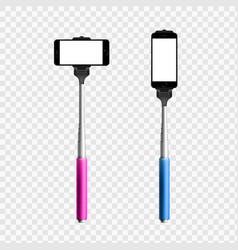 monopod isolated on a transparent background vector image