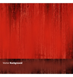 Red grunge abstract background vector