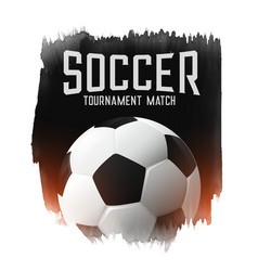 soccer football tournament match abstract vector image
