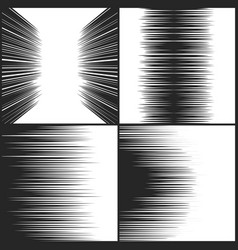 speed line comic book texture horizontal motion vector image