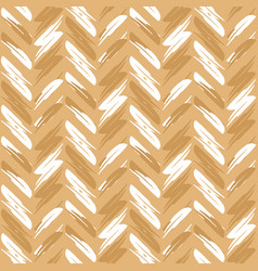 zigzag pattern seamless zigzag background golden vector image